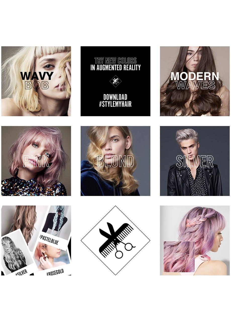 Cette technologie, qui sera déployée dans les salons de coiffure  partenaires L\u0027Oréal Professionnel en 2018, a été développée en  collaboration avec Modiface,