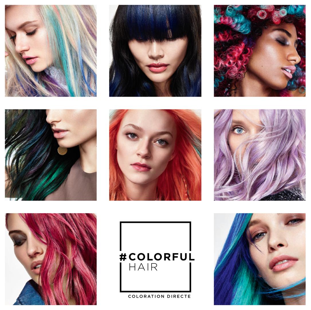 Coloration cheveux temporaire loreal